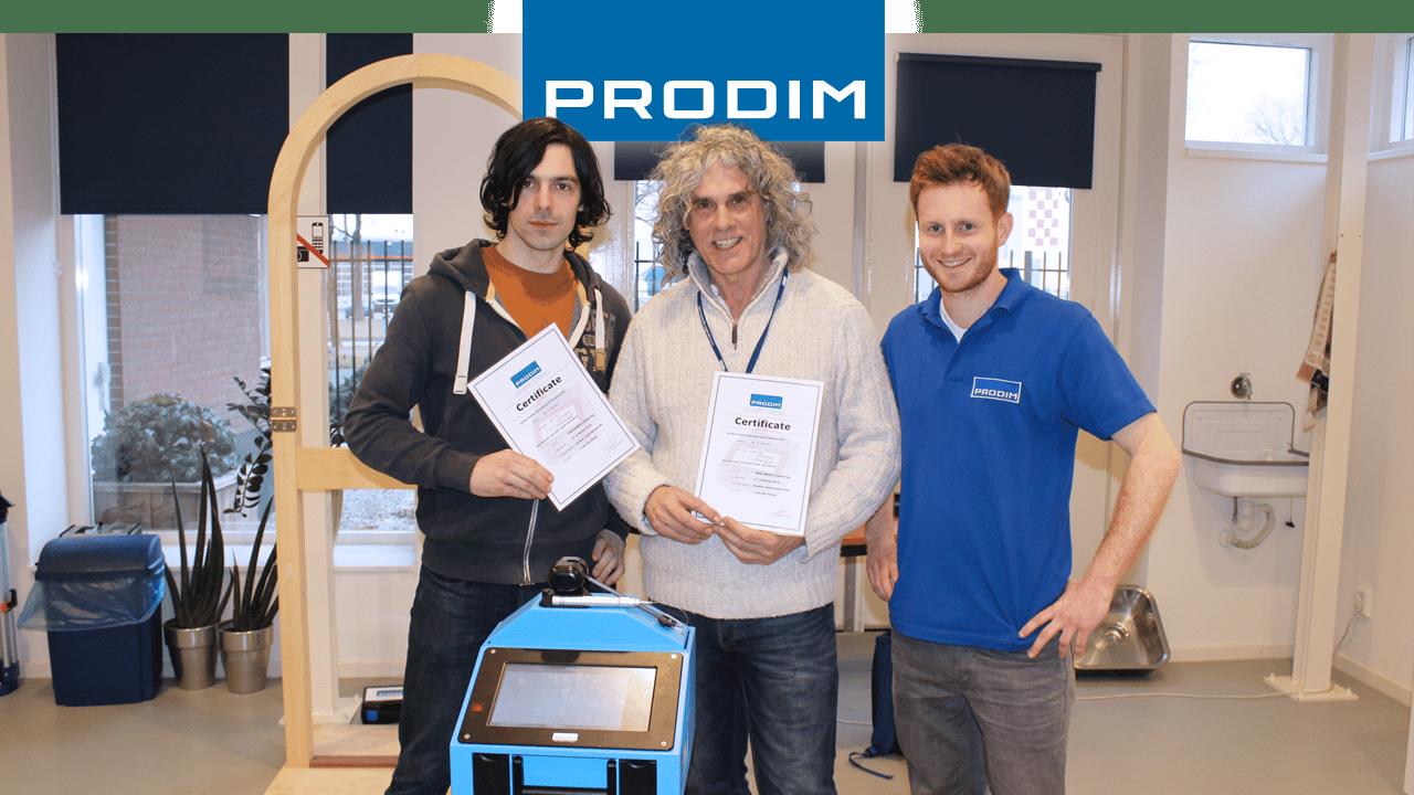 Utilisateur de Prodim Proliner Alpha Glass London