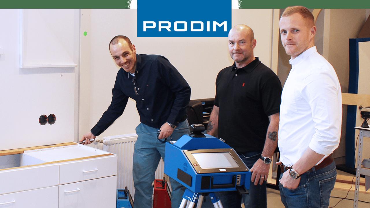 Utilisateur de Prodim Proliner CED Fabrication
