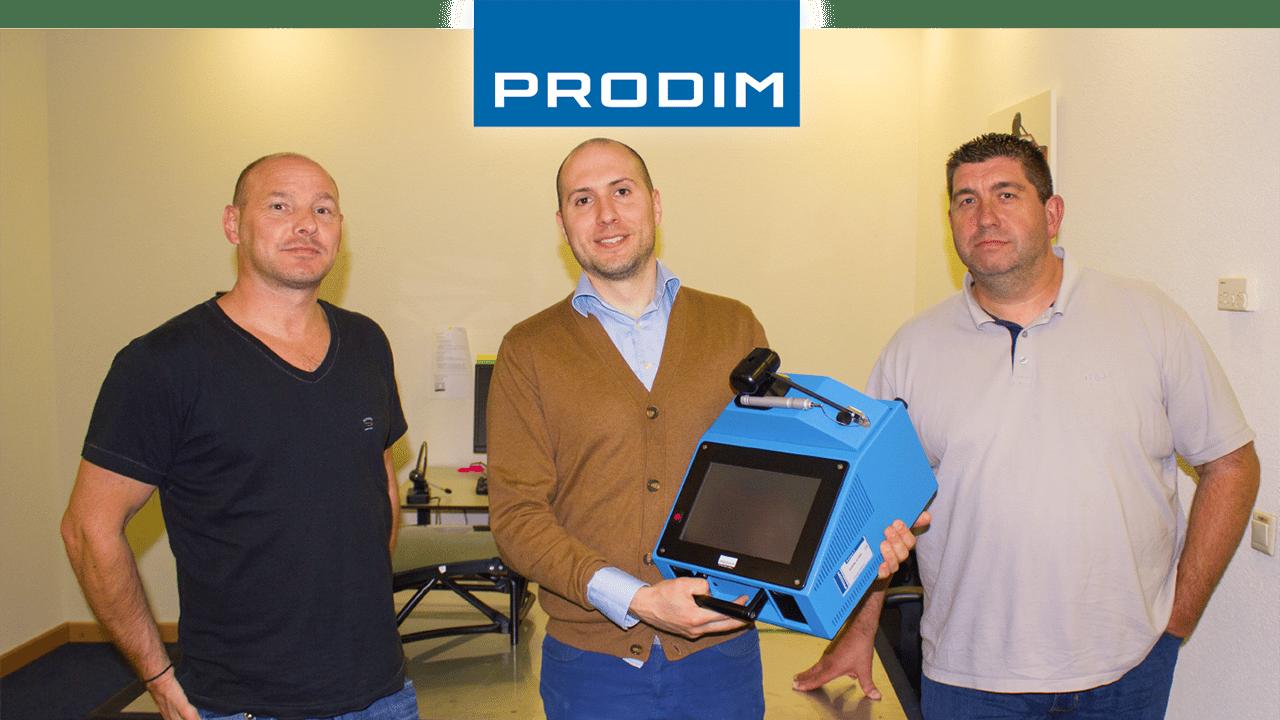 Utilisateur de Prodim Proliner Instrument Glasses