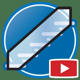 Bouton permettant de regarder des vidéos Proliner de modélisation numérique de balustrades en verre