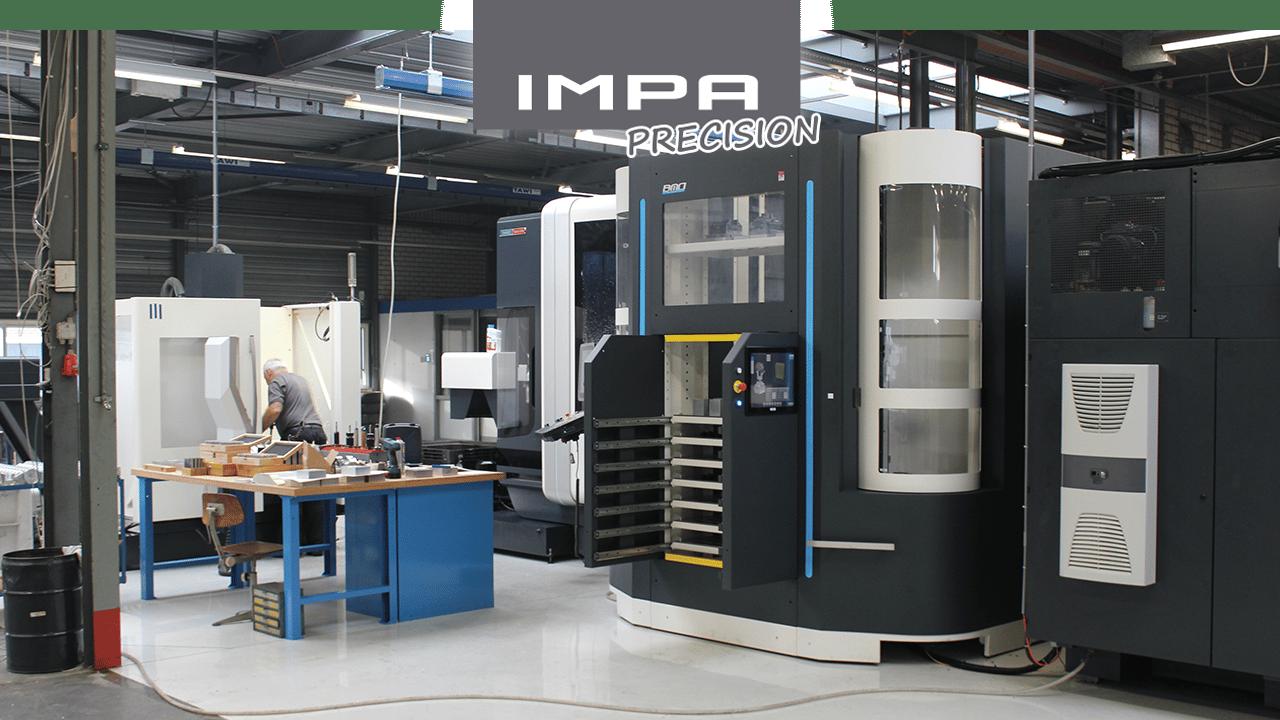 IMPA Precision - Fraiseuses à 3 et 5 axes