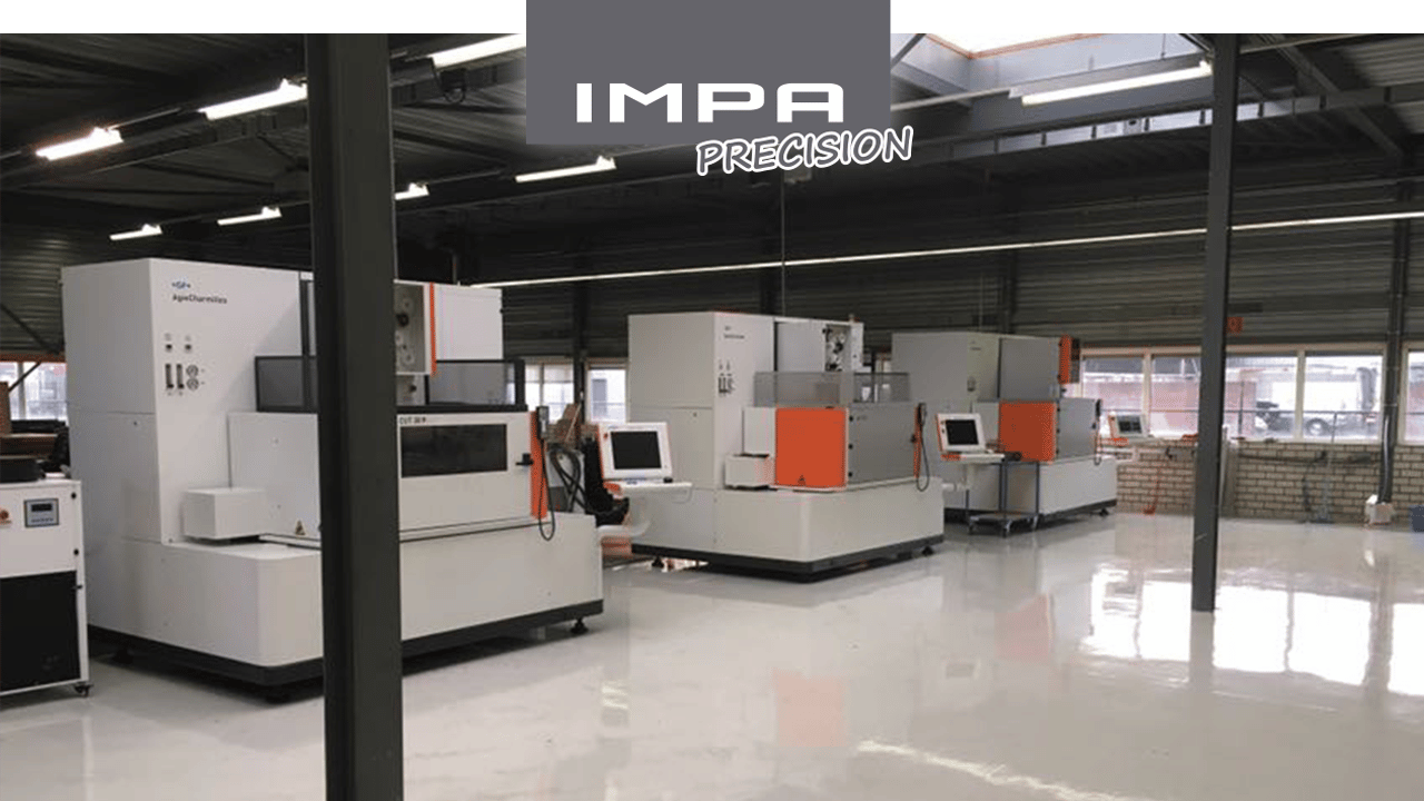 IMPA Precision - Machines d'usinage par étincelage