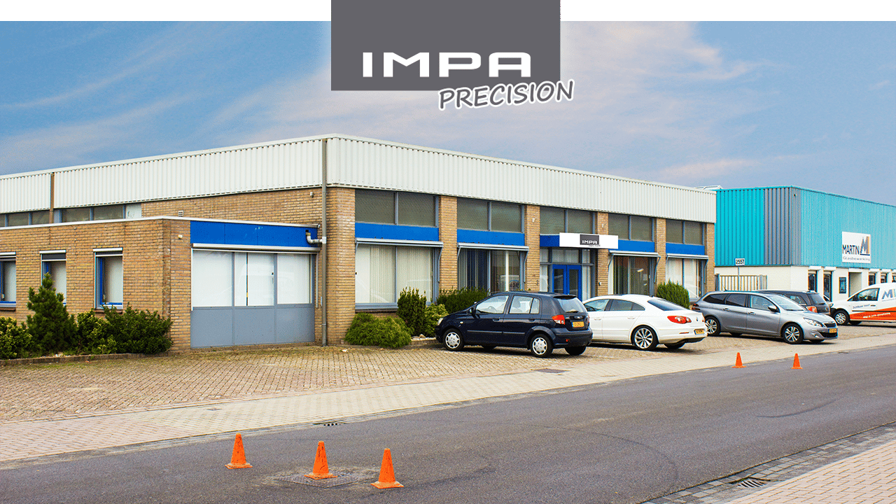 Bureau et usine d'IMPA Precision - Helmond, Pays-Bas