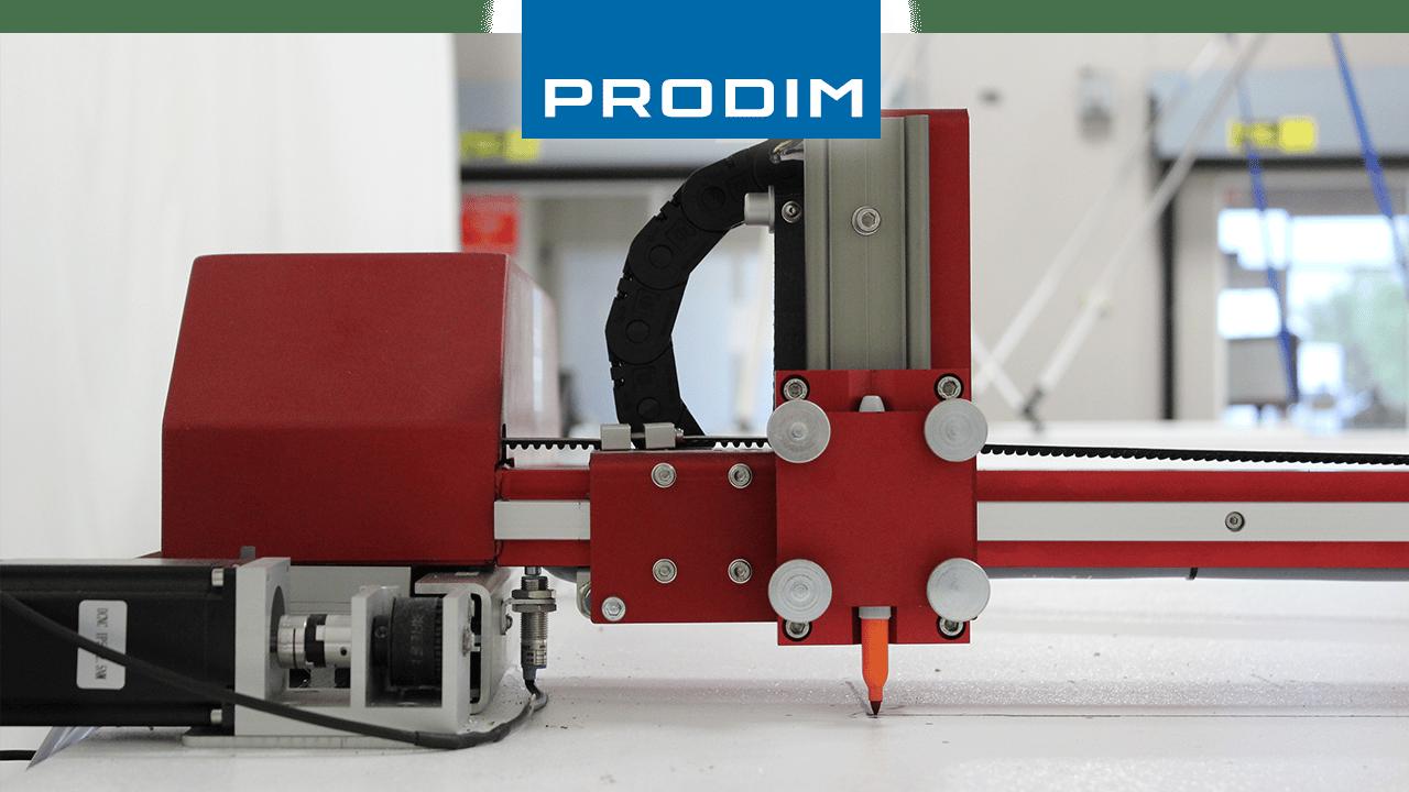 Solutions complètes de modélisation numérique Prodim - Outils industriels dédiés à une application - Image du traceur Prodim