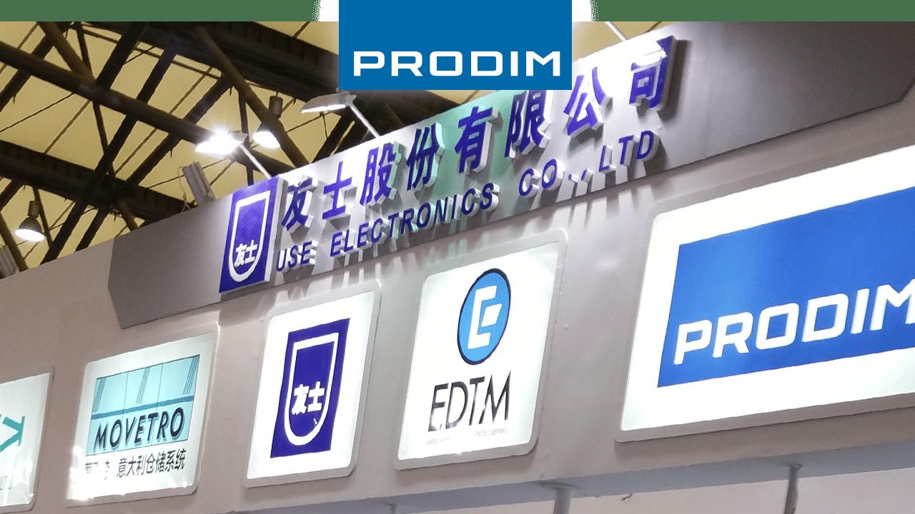 Prodim expose dans le monde entier - China Glass