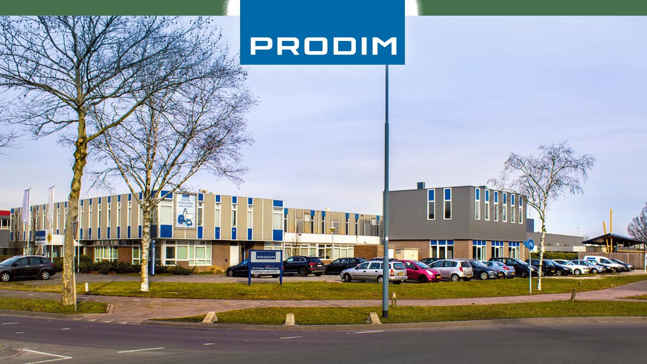 Bureau et usine de Prodim International à Helmond, Pays-Bas