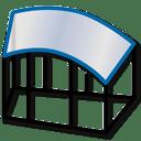Icône - Logiciel Prodim Bent Glass - Encadrement