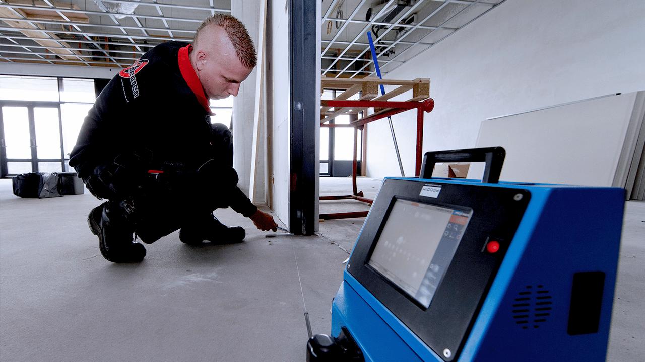 Solutions industrielles Prodim dédiées aux portes et fenêtres - Mesure de cadres et d'ouvertures