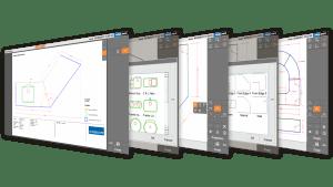 Captures d'écran - Logiciel Prodim Proliner CT