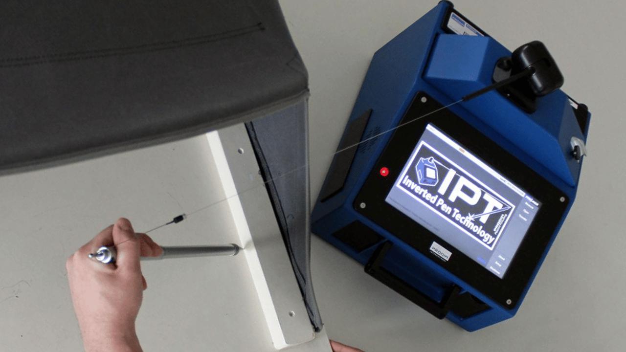Technologie de stylet inversé Prodim Proliner - IPT