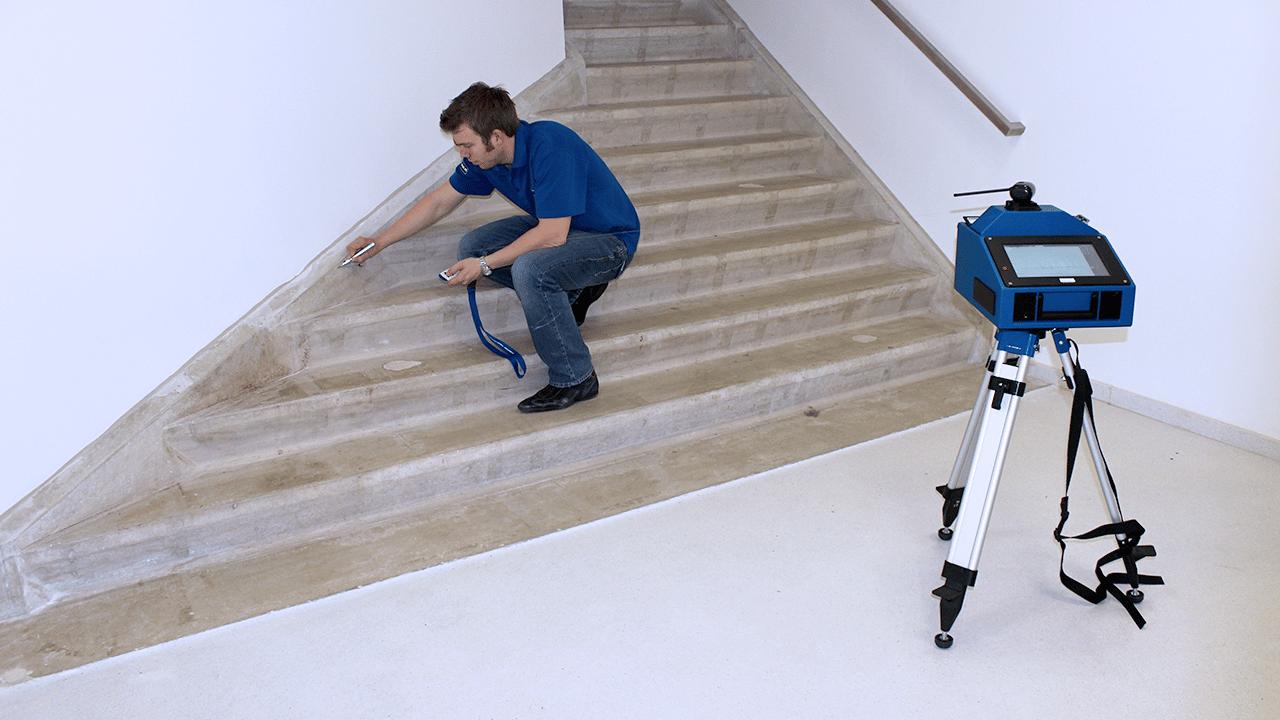 Solutions industrielles Prodim dédiées à la pierre - Modélisation numérique d'escaliers
