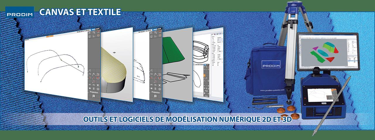 Prodim - Solutions complètes de modélisation numérique dédiées au secteur du Canvas et du Textile