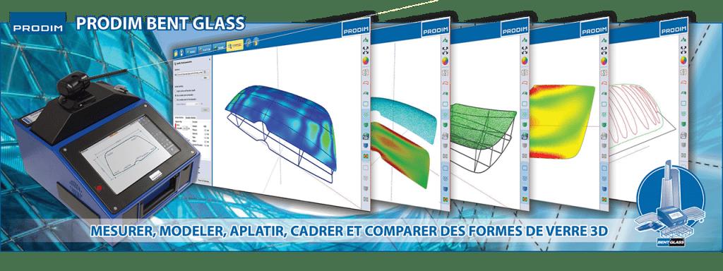 Le logiciel Prodim Bent Glass est construit de telle façon que nous pouvons fournir un forfait sur mesure, adapté aux besoins du fabricant de verre