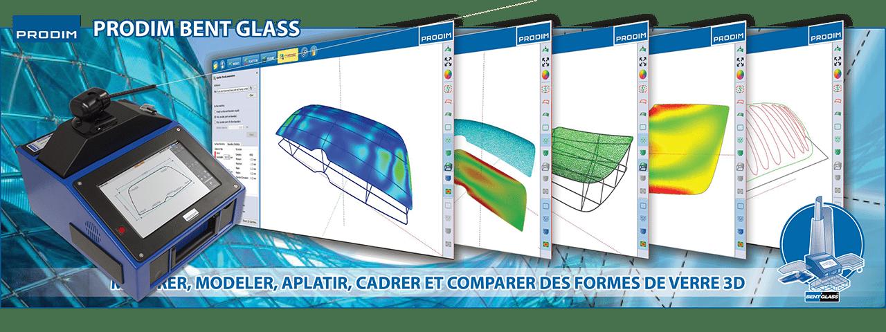 Slider - Prodim Bent Glass logiciel. Cliquez ici pour plus d'informations