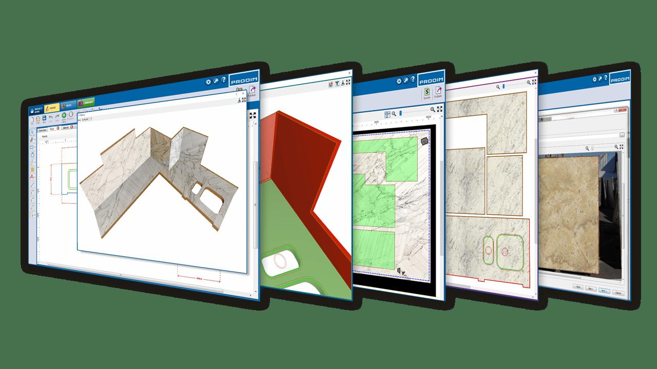 Logiciel Prodim Factory - Solutions pour l'industrie du pierre