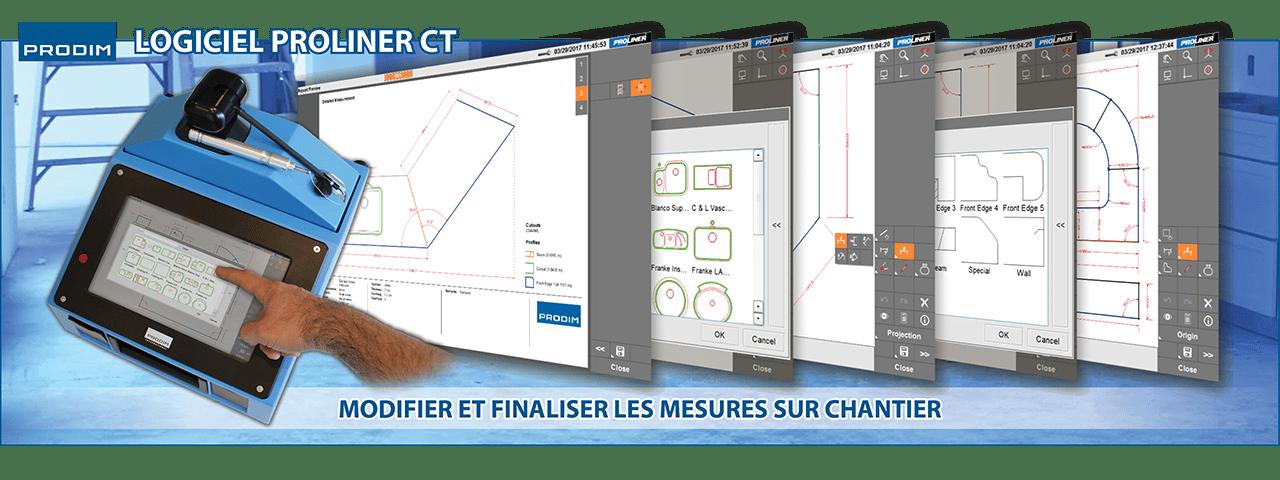 Slider - Proliner CT logiciel. Cliquez ici pour plus d'informations