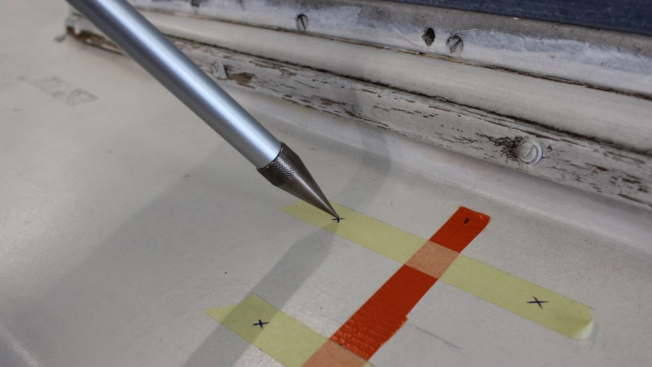 Proliner IPT - Point Pen - Que mesure facilement derrière les obstacles et autour des contours que ne sont pas pertinents
