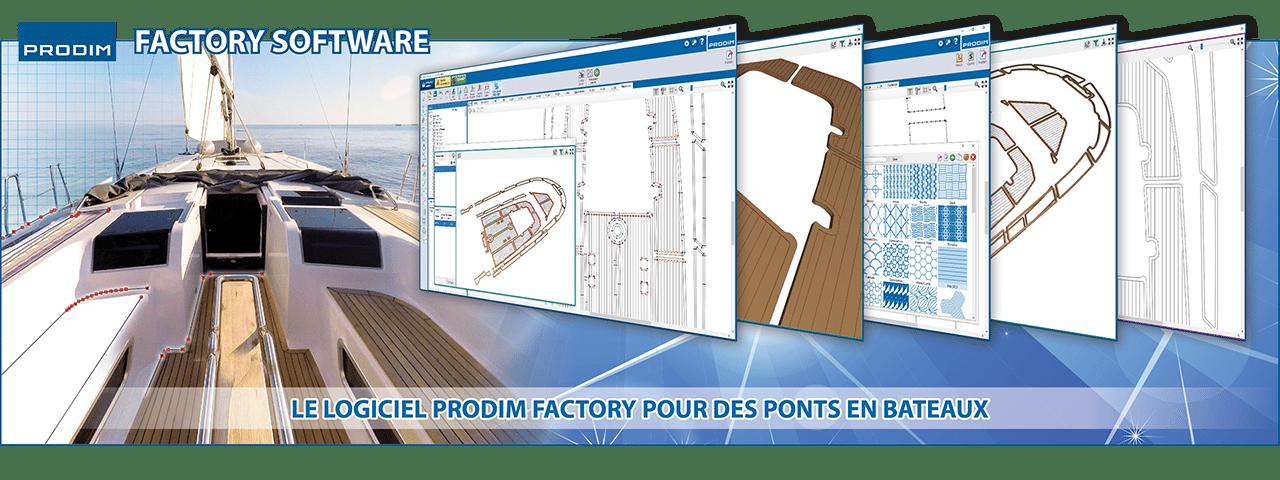 Slider - Le Logiciel Prodim Factory pour des Ponts en Bateaux